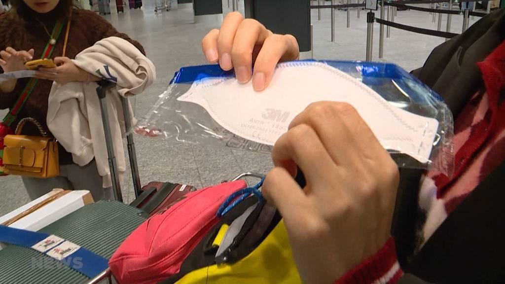 Corona-Virus: So wird am Flughafen Zürich mit der Bedrohung umgegangen