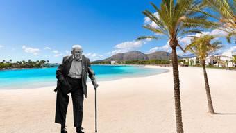 Mit 65 wird man als Abfall deklariert – und auf Mallorca entsorgt, meint Braungart.