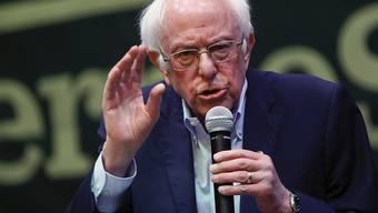 Der Demokrat und US-Präsidentschaftskandidat Bernie Sanders will den amtierenden Präsidenten Donald Trump bei den Wahlen im Herbst schlagen. (Archivbild)