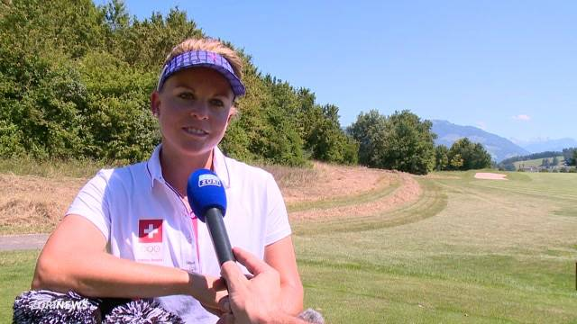 Schweizer Golferin vor Olympia 2016
