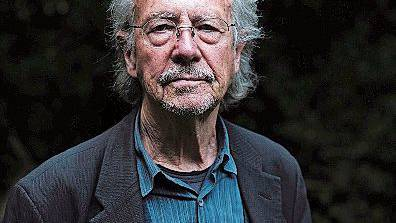 Nobelpreisträger Peter Handke.