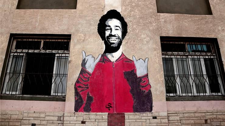 Mohamed Salah ist die Verkörperung des ägyptischen Traumes – dementsprechend oft prangt sein Antlitz in seiner Heimat auf Fassaden, Schildern oder Postern.