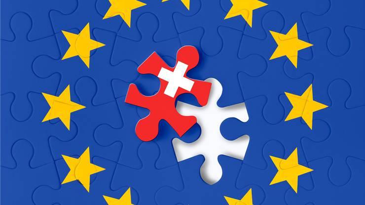 Nachdem das Rahmenabkommen verhandelt ist, versucht die Schweiz herauszufinden, ob es den einstigen Zielen noch entspricht.Mauritius Images