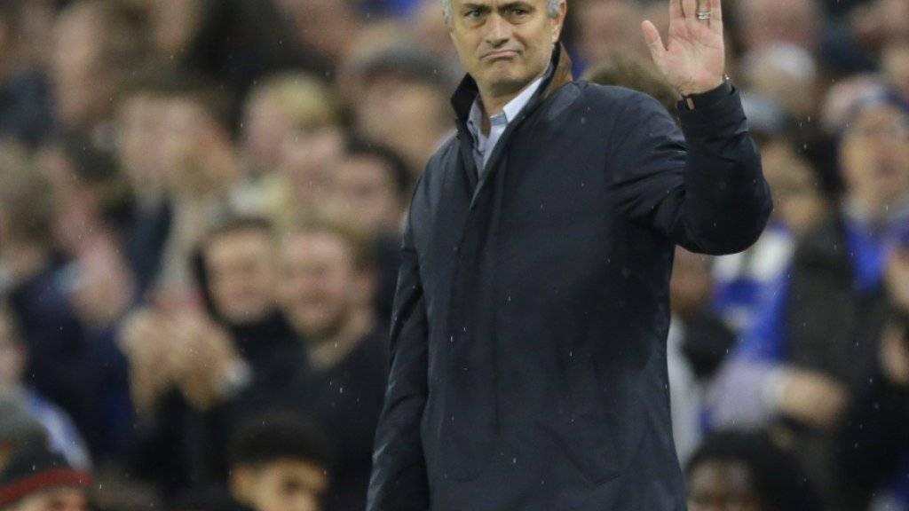 Chelseas Trainer José Mourinho muss sich verabschieden.