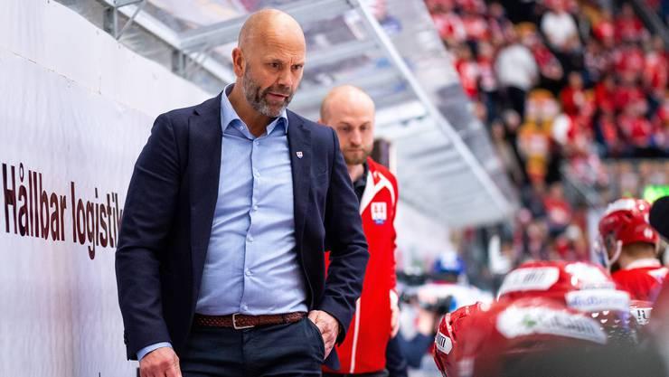 Tommy Sjödin wird per sofort Assistenztrainer des EHC Olten