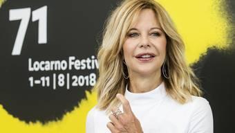 Meg Ryan (56) in Locarno: In den 90er-Jahren war sie eine der erfolgreichsten Schauspielerinnen, heute entwickelt sie eigene Filmprojekte.