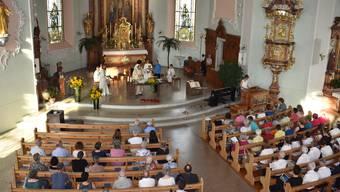 Wie während dem Lockdown gibt es in Oberwil Gottesdienste per Livestream. (Symbolbild)