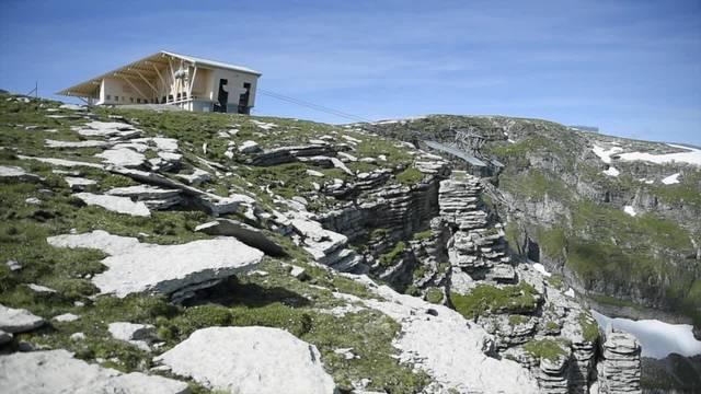 Gipfelrestaurant auf Chäserrugg eröffnet