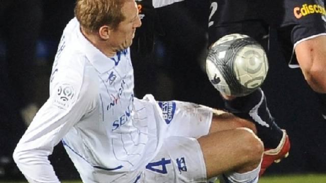Knappe Hinspiel-Niederlage für Auxerre mit Stéphane Grichting