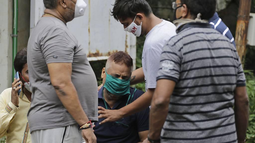 Acht Corona-Patienten sterben bei Brand in Krankenhaus in Indien