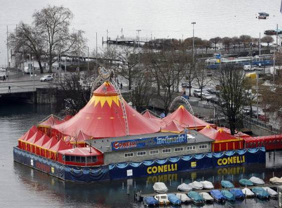 Auch der Circus Conelli wird weiterhin zu Gast sein.