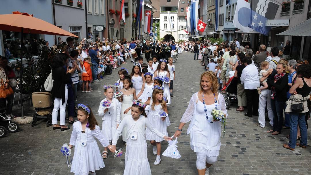 So verlief das Jugendfest in Lenzburg