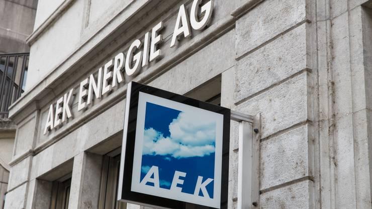 Die AEK Energie AG baut in Derendingen das Fernwärmenetz weiter aus. (Archiv)