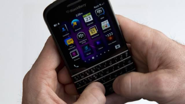 Blackberry rutscht in die roten Zahlen (Archiv)