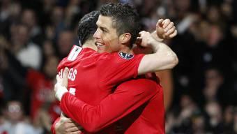 Die Verbindung von Ronaldo zu Sir Alex Ferguson war sehr gross