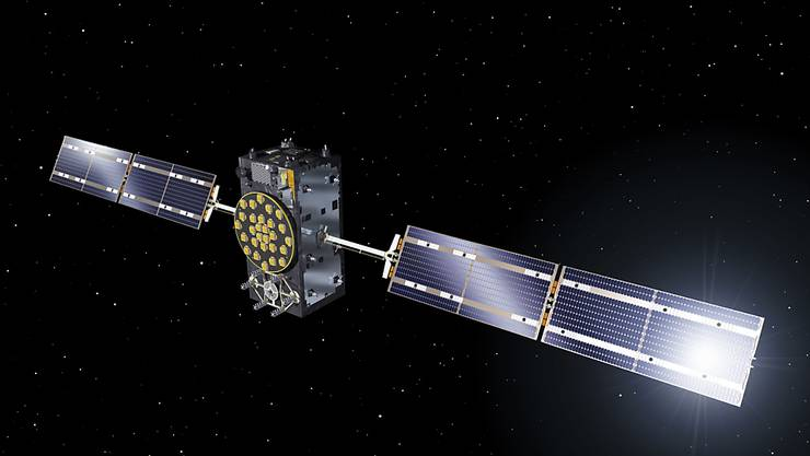Derzeit befinden sich 26 Galileo-Satelliten in der Umlaufbahn, vier weitere sollen Ende 2020 ins All geschossen werden. (Computerbild)