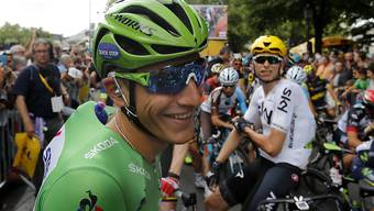 Marcel Kittel hat derzeit an der Tour de France gut lachen