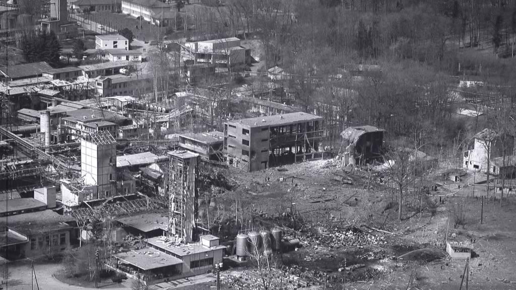 Zeitzeugen: Explosion Sprengstofffabrik Dottikon