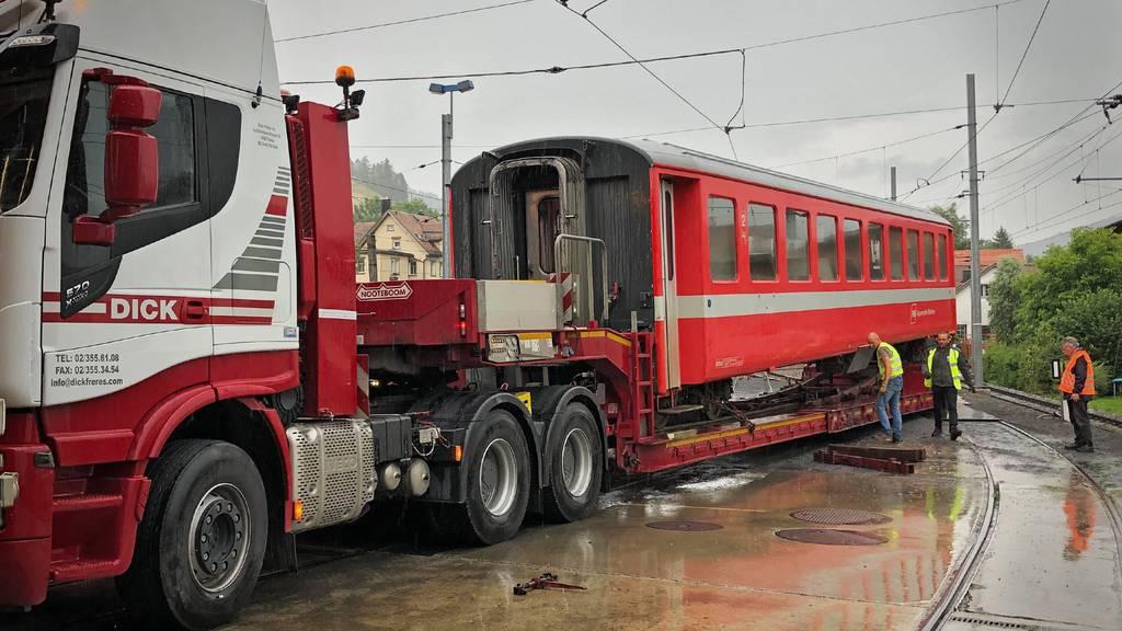Appenzeller Züge reisen nach  Westafrika