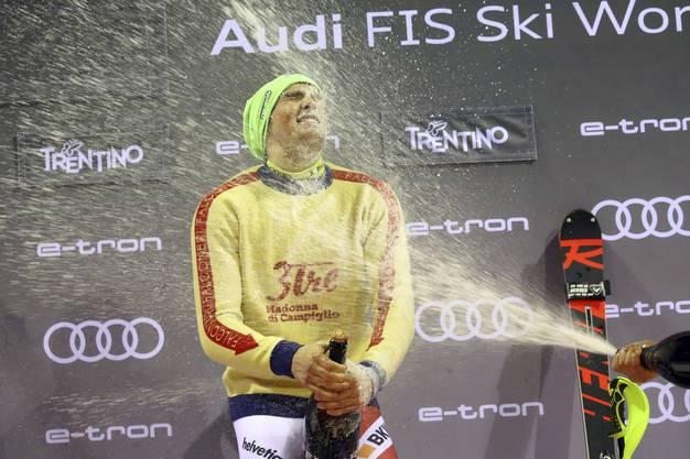 Daniel Yule errang damit seinen ersten Weltcupsieg.