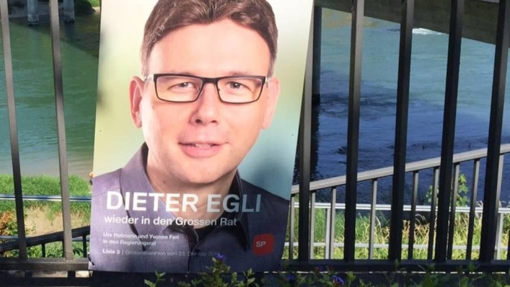 Dieter Egli soll Aargauer SP-Regierungssitz verteidigen