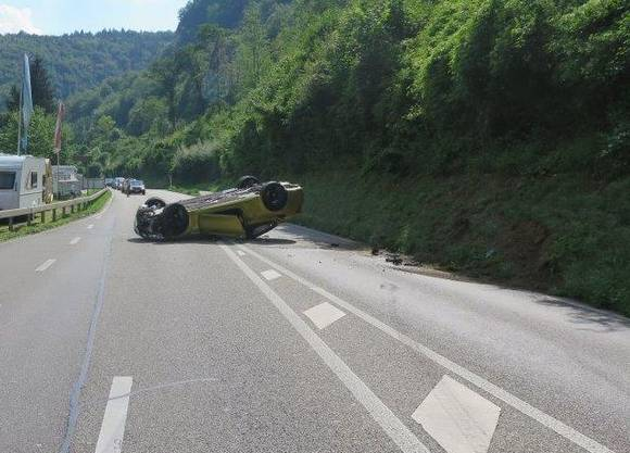 Grund des Unfalls war zu starkes Beschleunigen.