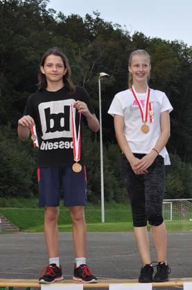 Anja Bucher und Kajlash Montefinale sind die Schnellsten.