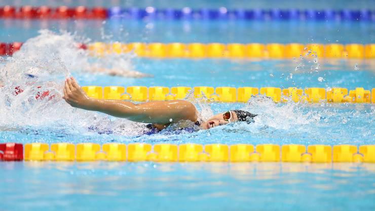 Eine Premiere, zwei Medaillen: Nora Meister überzeugt in London in den Kategorien 100m Rücken und 400m Freistil und holt ihre ersten beiden Bronzemedaillen an einer Weltmeisterschaft.