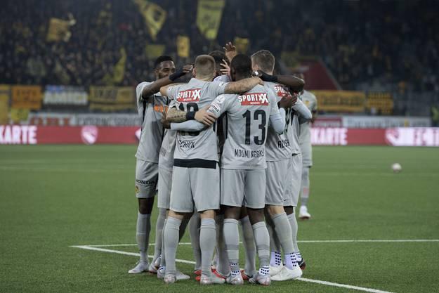Langsam zeichnet es sich ab: Diese Mannschaft ist einfach nicht zu schlagen. 4:1 gegen Thun!