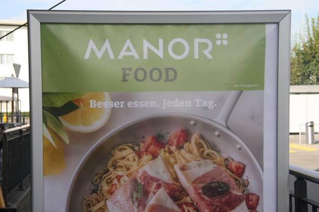 Bald Vergangenheit - Manor Food in Solothurn