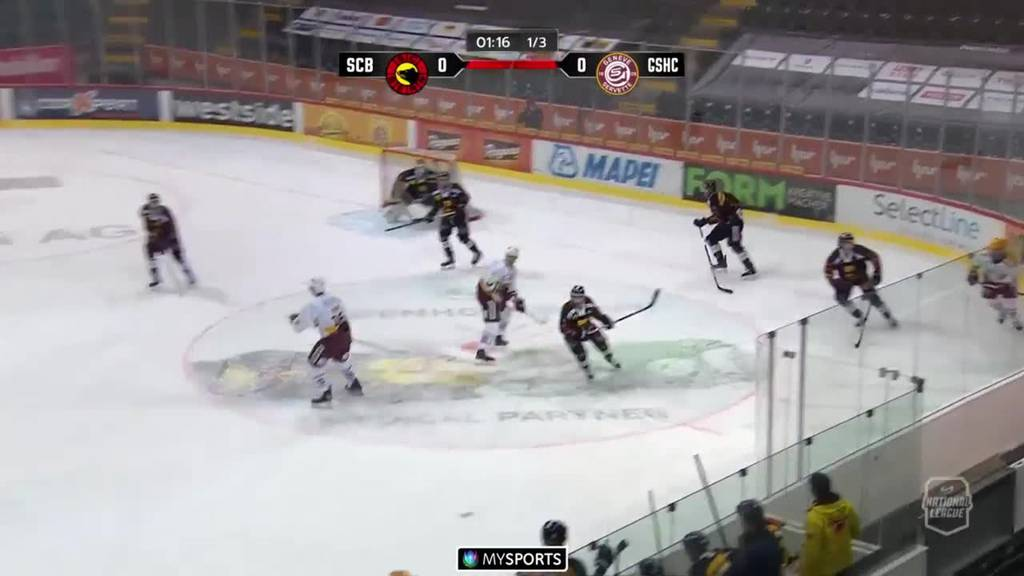 Bern gewinnt mit 4:3 gegen Genf