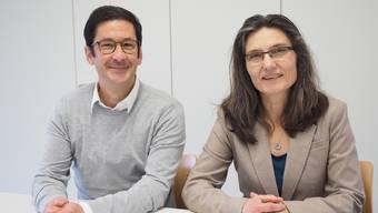 Patrick Bernhart und Regina Erhard kandidieren am 27. November für den Stadtrat Laufenburg.