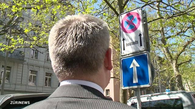 Stadt Zürich macht aus Parkverboten mehr Halteverbote