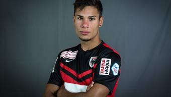 Miguel Peralta gehört neu der 1. Mannschaft des FCA an