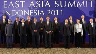 Gruppenbild beim ASEAN-Gipfel 2011