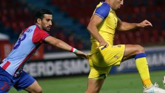 Dem iranischen Nationalspieler Ehsan Hajsafi (links) wurde der Einsatz in der Europa League gegen Maccabi Tel Aviv zum Verhängnis