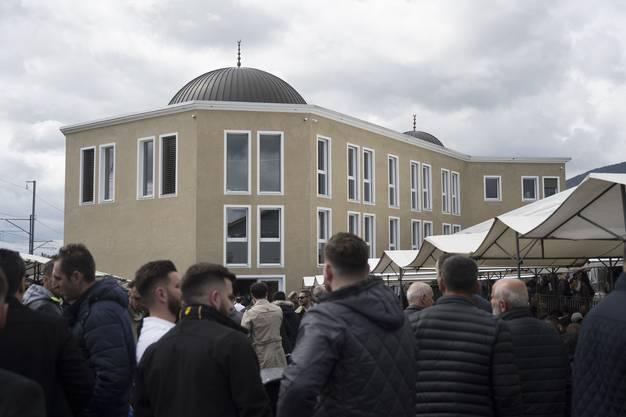 Insgesamt drei Jahre dauerten die Bautätigkeiten an dem muslimischen Gotteshaus