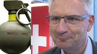 Schweizer Waffen in den Händen von Terroristen: Bei einem Anschlag in der Türkei der Attentäter Cendrim R. Handgranaten aus der Schweiz dabei.