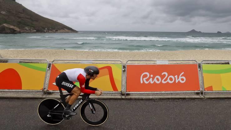 Fabian Cancellara auf dem Weg zum Olympiasieg in Rio, seinem absoluten Karriere-Höhepunkt.