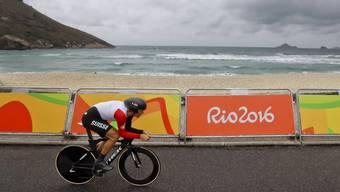 Fabian Cancellara auf dem Weg zum Olympiasieg in Rio.