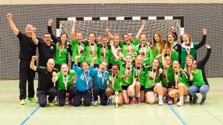 Regio-Cup Sieger HV Olten Damen 1
