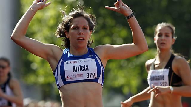 Valentine Arrieta erfüllt EM-Limite über 400 m Hürden