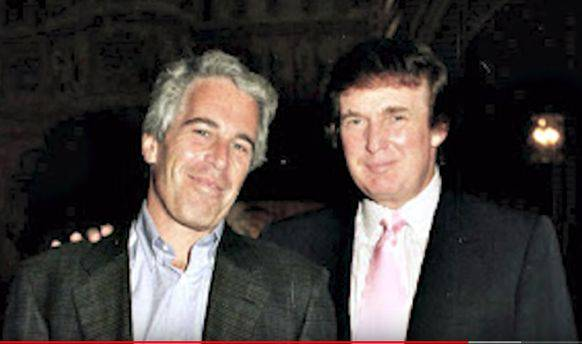 Einst beste Kumpels: Epstein und Trump.