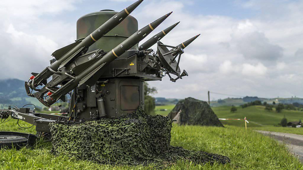 Schweizer Armee erprobt bis Ende September neue Flugabwehrsysteme