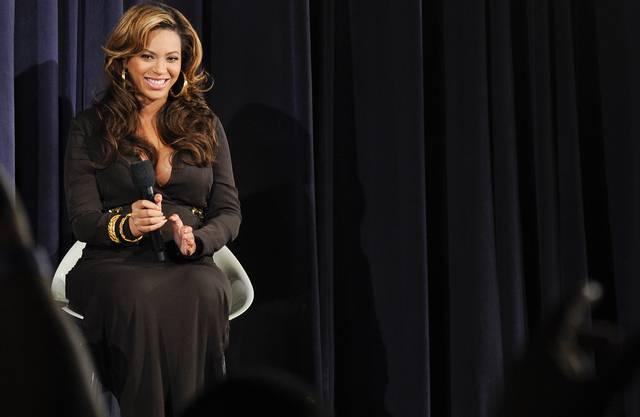 Schwangere Beyoncé im November letzten Jahres