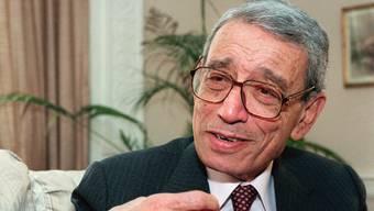 Boutros Boutros-Ghali war Generalsekretär zwischen 1992 und 1996.