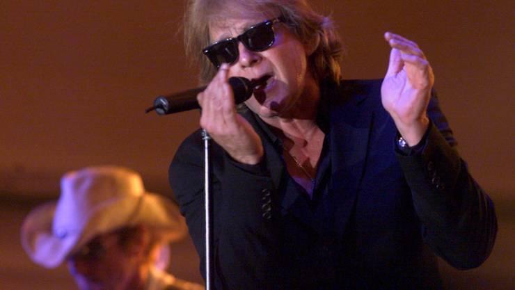 Eddie Money bei einem Auftritt im Jahr 2004 in Iowa. Am Freitag starb der US-Sänger im Alter von 70 Jahren an den Folgen einer Krebserkrankung.