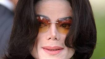Michael Jackson im Jahr 2005 (Archiv)