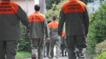 Der Zivilschutz im Kanton Solothurn ist bereit. Archiv