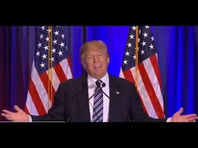 Donald Trump fordert Marco Rubio auf aufzugeben.